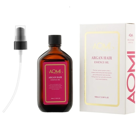Масло для волос AOMI Argan Hair Essence Oil, 100 мл